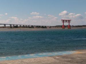 浜名湖と鳥居タワー