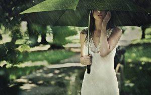 濡れにくい女性