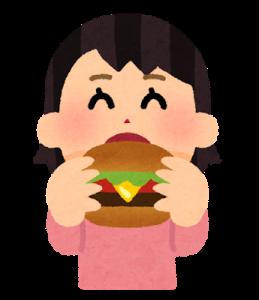 食欲旺盛な女性