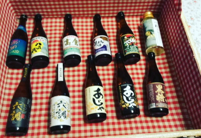 奄美大島黒糖焼酎100ml11種