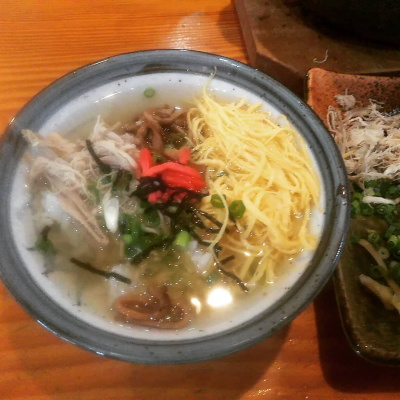 奄美大島名物鶏飯