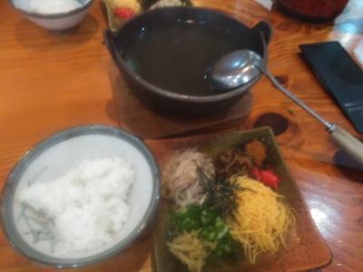 奄美大島ひさ倉の鶏飯