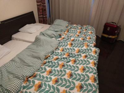 HUBの寝室