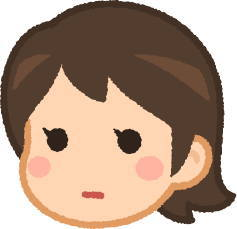普通がわからない女性の表情