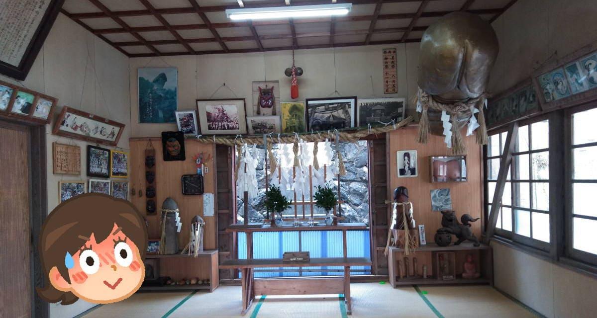 塞神社の境内内画像
