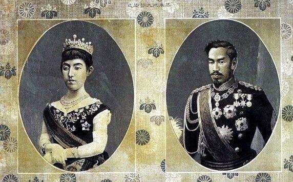 明治天皇と昭憲皇太后