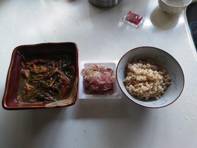 2019/9/22朝食