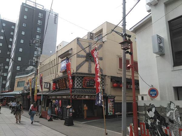 浅草大衆演劇芝居小屋木馬館