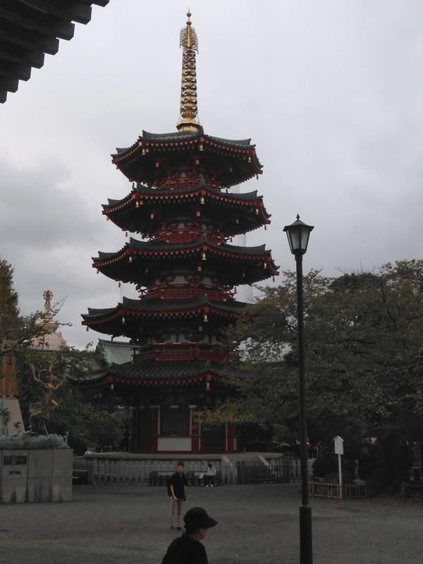川崎大師八角五重塔