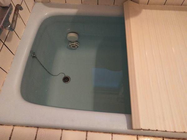 お風呂満水