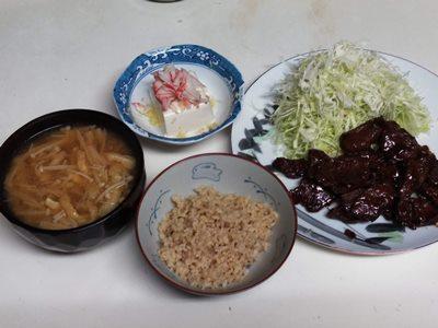 2019/9/29夕食