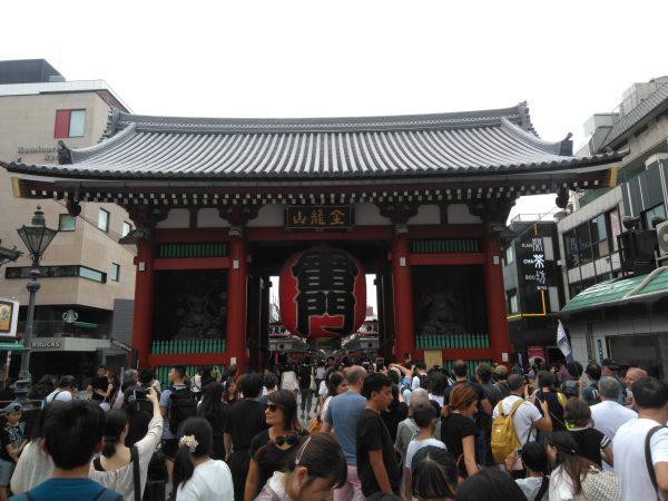 東京観光スポット浅草寺