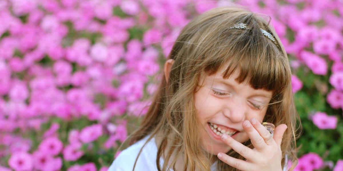 常設割引イベント花と少女